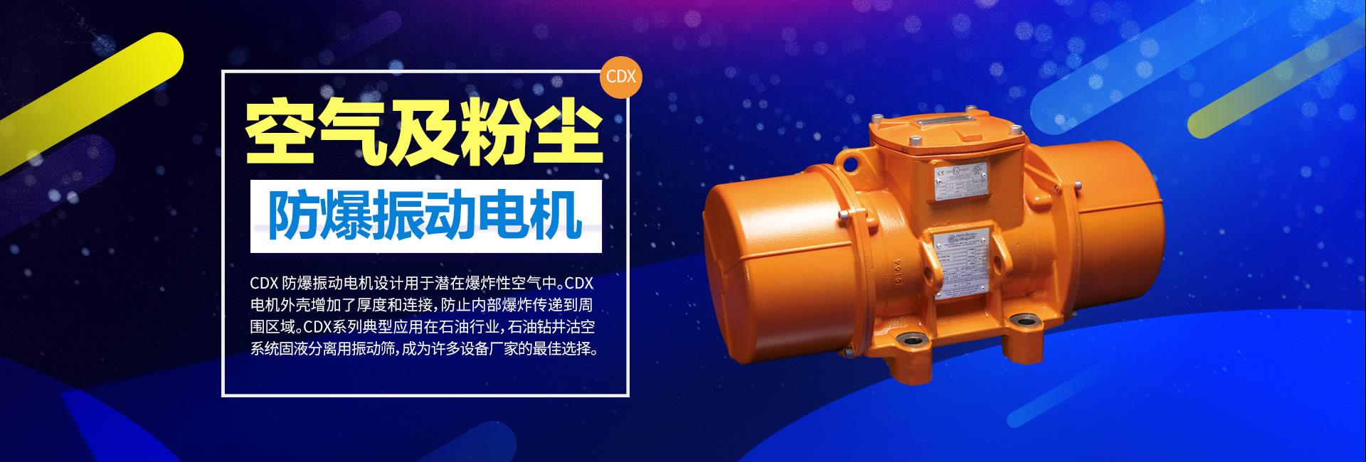 空气及粉尘防爆振动电机CDX